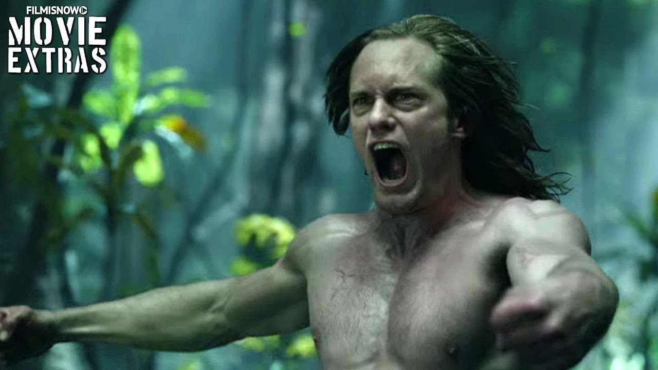 The Legend of Tarzan Clip Compilation (2016)
