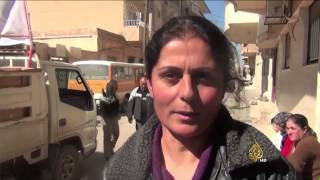 نزوح مئات من المسيحيين الآشوريين السوريين إلى القامشلي