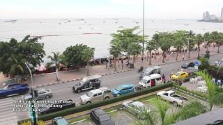 2015 Beach Road Pattaya (early in the morning) - FHD