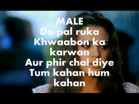 Do Pal Karaoke Instrumental Veer Zara
