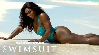 Serena Williams Turns Up The Heat, Serves Up A Wet Paradise | Outtakes | Sports Illustrated Swimsuit