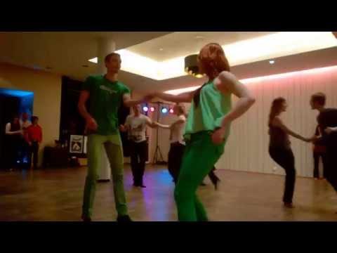 Annika & Vesku WCS Helsinki 2015 Open Strictly prelims song 2