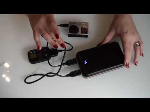 iMuto 20000mAh Compact External Battery Power Bank Portable Charger Review. A big capacity external