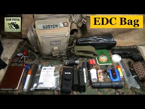 edc bag for everyday & survival youtube