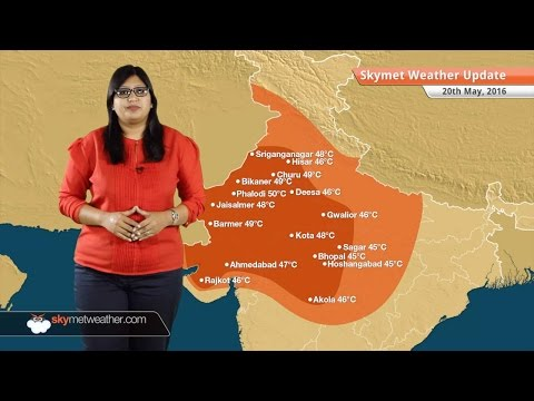 Weather Forecast for May 20: Roanu to become severe cyclone, heatwave in Delhi, Gujarat