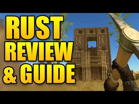 RUST Review ! What is Rust? Rust Guide (Nick Reviews Rust)