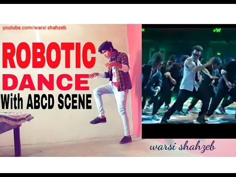 Best Robotic DANCE ever || with ABCD Twist by warsi shahzeb
