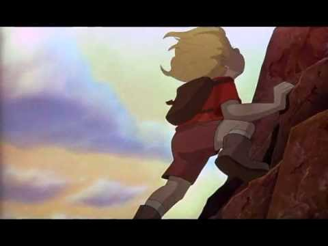 flying with marahute scene from disney's the rescuers down