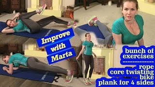 Bunch of exercises - Improve with Marta