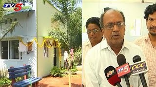 Jawahar Walkers Club Donates New Residential Building For Oldage Home At Rajahmundry