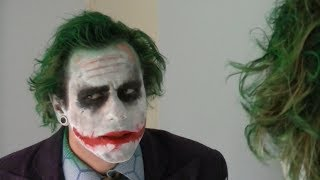Becoming The Joker (makeup tutorial)