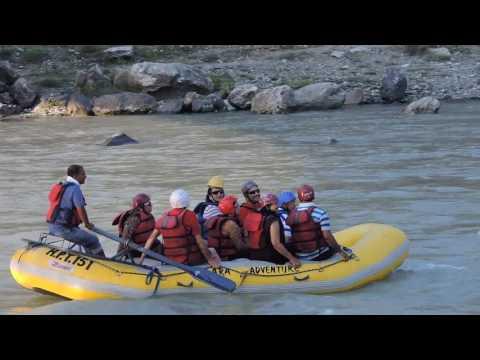 Rafting in River Beas near Kulu, HP, India