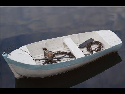 Comment construire une barque -modélisme naval-