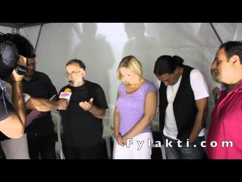 Συνέντευξη Θάνου Μικρούτσικου για τη συναυλία στη πλαζ Λίμνης Πλαστήρα 24-8-14 - Fylakti.com