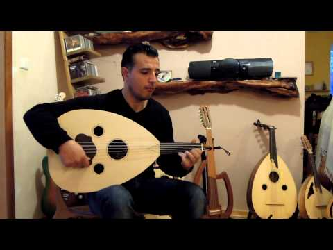 Saeid Abassi is playing Takasim Hijaz on his new oud