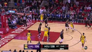 Brandon Ingram beats the buzzer with a heavily contested two - ABC