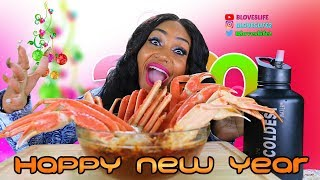 Snow Crab Mukbang - Happy New Year!