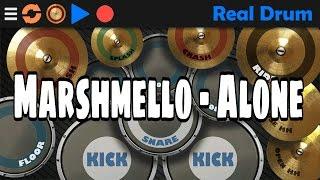 Marshmello - Alone (Real Drum Cover)