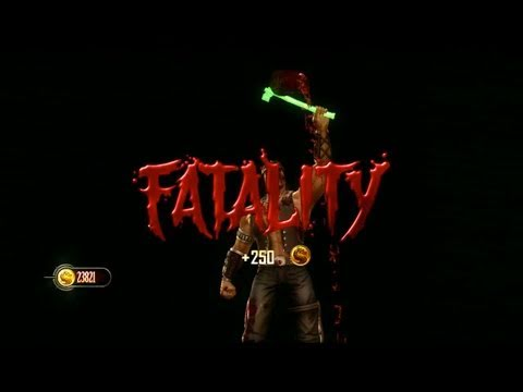 Mortal Kombat 9 - Fatalities 3 (Mileena, Nightwolf, Cyrax, Noob, Smoke)