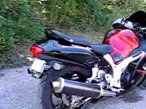 2006 Suzuki Hayabusa motorcycle with Akrapovic exhaust Video