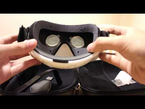 Samsung Gear VR Unboxing and Hardware Walkthrough