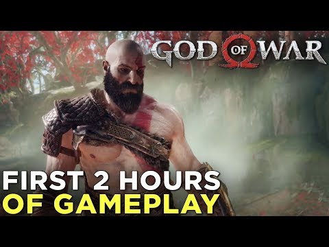 God of War GAMEPLAY! The First 2 Hours (No Commentary, Immersive Mode) thumbnail