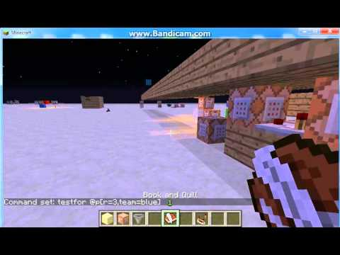 Minecraft 1.5.1 command block testfor. shops. scoreboard. and basics tutorial