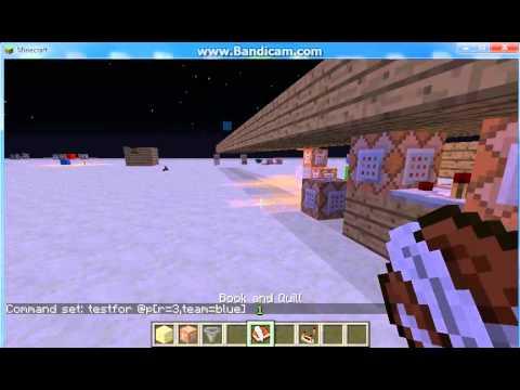 Minecraft 1.5.1 command block testfor. shops. scoreboard. and basics tutorial
