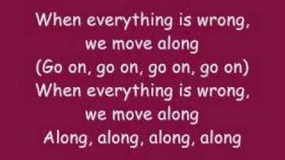 All American Rejects - Move Along [WITH LYRICS]