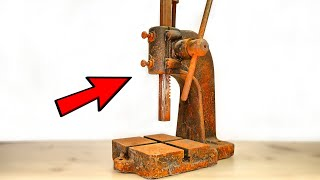 Very Rusted Press Restoration