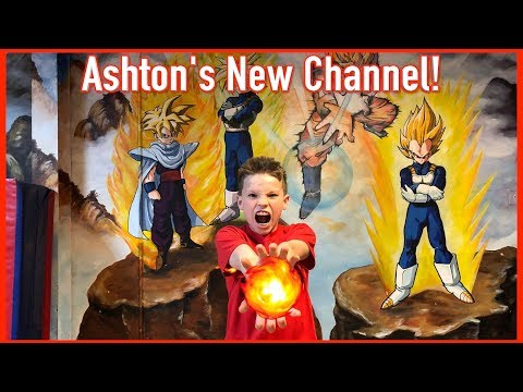 Ashton's 1st Video +  Ninja Kidz Tv Highlight Compilation!