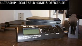 SCALES ULTRASHIP  SHIPPING SCALE - 55 LB HOME & OFFICE USE