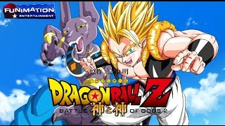 Dragon Ball Z: Battle of Gods - Super Saiyan God GOGETA Dragon Ball Z: BATTLE OF GODS 2 2015 MOVIE