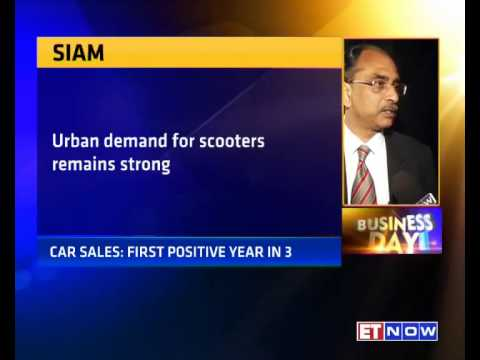 Car Sales Grew 5% In FY15 | SIAM's Vishnu Mathur To ET NOW