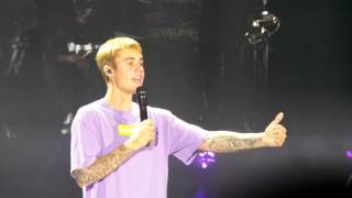 Justin Bieber - Life Is Worth Living @ Gelredome, Arnhem. The Netherlands / 8-10-16 PURPOSE TOUR