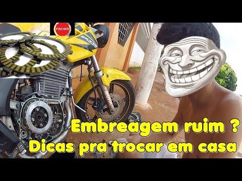 DICAS PRA TROCAR A EMBREAGEM EM CASA / COMPARANDO ANTES E DEPOIS