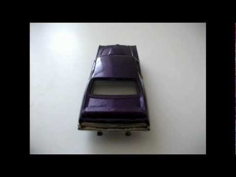 Hot Wheels 69 Mercury Cougar Eliminator Classic American Muscle Car