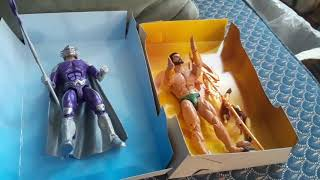 #marvel legends vs #DC Multiverse  sub Marnier vs #Aquaman  Ocean Master