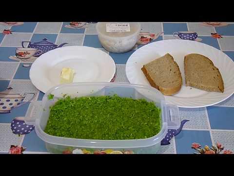 Чесночная заправка или закуска / Garlic dressing or snack