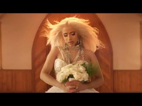 "Cardi B BREAKS DOWN At Wedding In ""Be Careful"" Music Video"