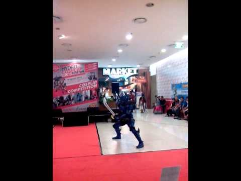 Makai Knight Baron hydro Cosplay Fest 2014 video