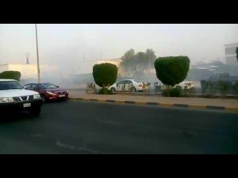 Crazy Kuwait boy car weel