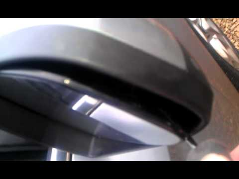 Mondeo Mk4 Puddle Lamp Clipped Removal Youtube