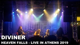 DIVINER - Heaven Falls - LIVE in Athens 2019 [HQ AUDIO]