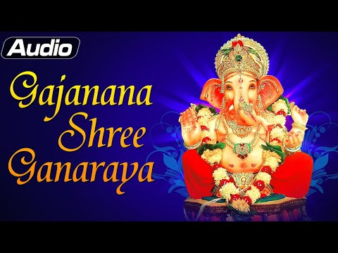 gajanana Shree Ganaraya Song - Ganpati Aartis - Lord Ganesha Devotional Prayers video
