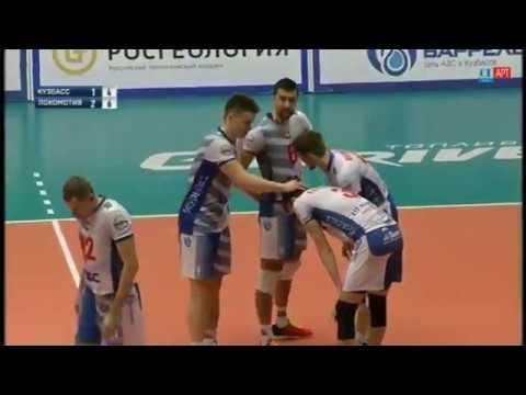 Классная защита Лаури Керминена в матче «Кузбасс» – «Локомотив»