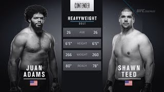 FREE FIGHT | Adams Pushes Pace in Dominant Victory | DWTNCS Week 7 Contract Winner - Season 2