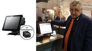 POS pokladní sestava pro GASTRO - pokladní terminál ALU POS, tiskárna, pokladní software AWIS