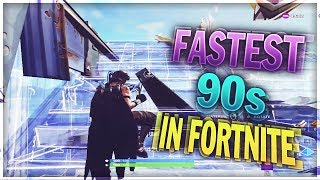 NEW Fastest 90s In Fortnite & How to do Them (Season 7)