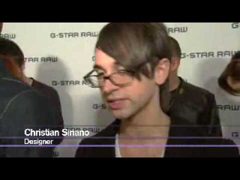 New York Fashion Week: red carpet, celebrity & backstage at G-Star Raw S/S 2010 Video